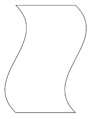 A Banner - A Common Shape to Learn to Draw