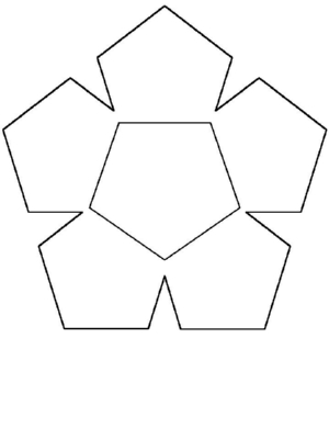 A Pentagon - A Common Shape to Learn to Draw